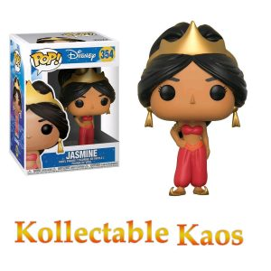 Aladdin - Jasmine (Red) Pop! Vinyl Figure