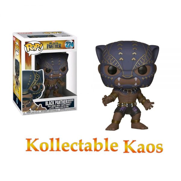 Black Panther (2018) - Black Panther in Warrior Falls Outfit Pop! Vinyl Figure #274