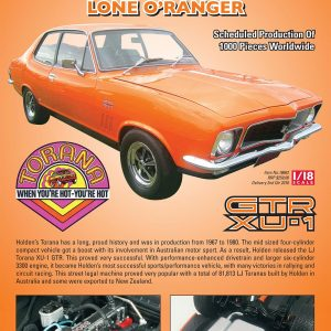 1:18 Holden HJ Torana XU-1 GTR - Lone O'Ranger