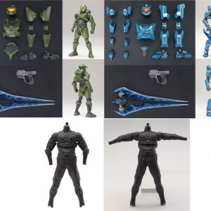 HALO Mjolnir Mark V & VI Armor Set + Basic Body