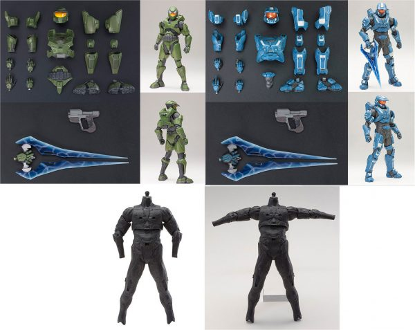 HALO Mjolnir Mark V & VI Armor Set + Basic Body