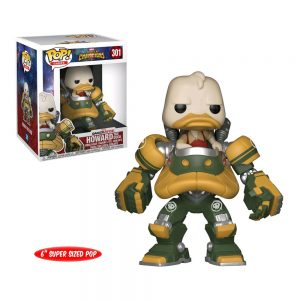 Marvel: Contest of Champions - Howard the Duck in Duck Mech 15cm Super Sized Pop! Vinyl Figure