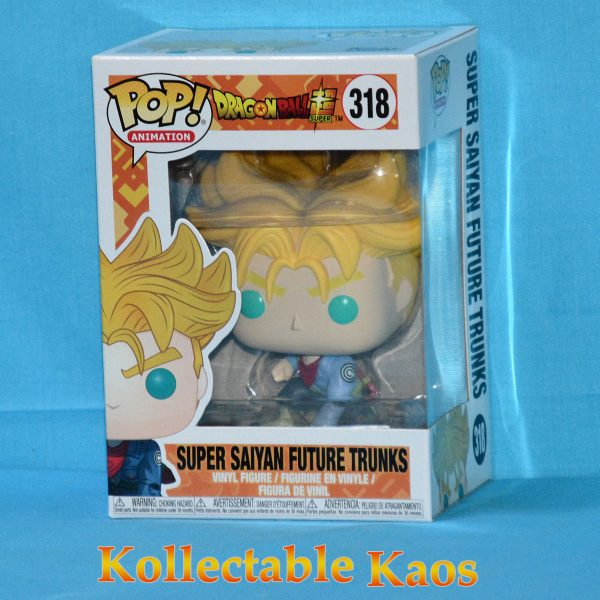 Dragon Ball Super - Super Saiyan Future Trunks Pop! Vinyl Figure #318 (RS)