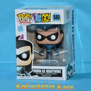 Teen Titans Go! - Nightwing with Baby Pop! Vinyl Figure (RS)