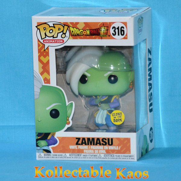 Dragon Ball Super - Zamasu Glow in the Dark Pop! Vinyl Figure #316 (RS)