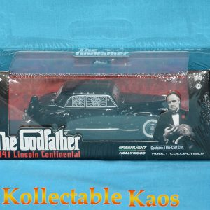 1:43 Greenlight - The God Father(1972) - 1941 Lincoln Continental with Bullet Holes