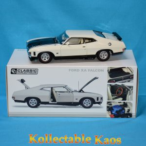 CC 18665 Ford XA Falcon Polar White 1 300x300 - 1:18 Ford XA Falcon RPO83 Coupe - Polar White