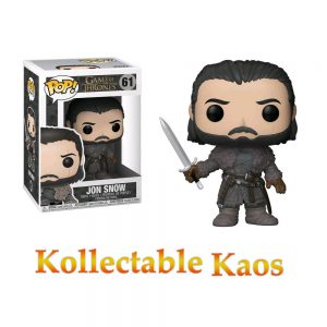 FUN29166 GOT Jon Snow Beyond The Wall Pop 300x300 - Game of Thrones - Jon Snow Beyond The Wall Pop! Vinyl Figure #61