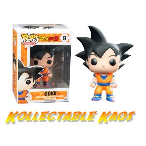 Dragon Ball Z - Goku Pop! Vinyl Figure #9 + Protector