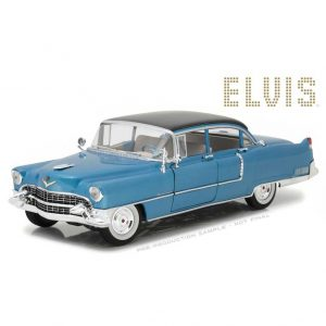 1:18 Greenlight - 1955 Cadillac Fleetwood Series 60 - Blue Cadillac
