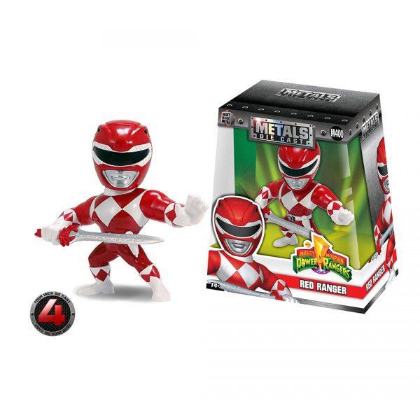 Power Rangers - Red Ranger 10cm Metals Die-Cast Action Figure