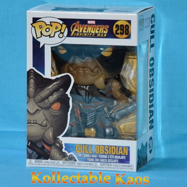 Avengers 3: Infinity War - Cull Obsidian Pop!#298 + protector