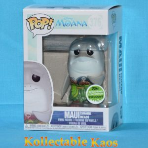 ECCC 2018 - Moana - Maui Shark Head Pop! Vinyl Figure (RS)