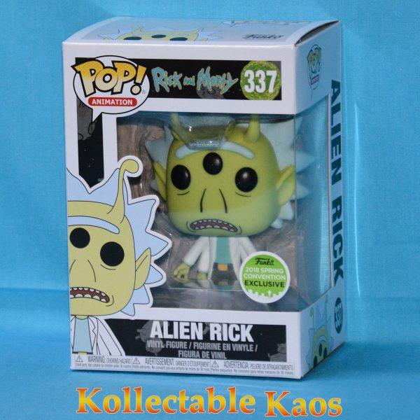 ECCC 2018 - Rick and Morty - Alien Rick Pop! Vinyl Figure(RS)