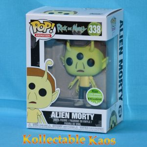 ECCC 2018 - Rick and Morty - Alien Morty Pop! Vinyl Figure(RS)