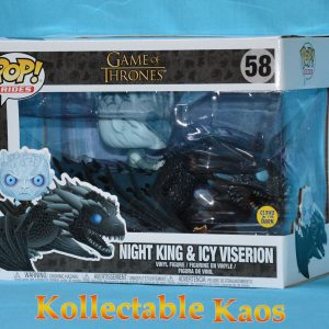 Game of Thrones - Night King with Viserion Pop! Ride Vinyl Figure #58