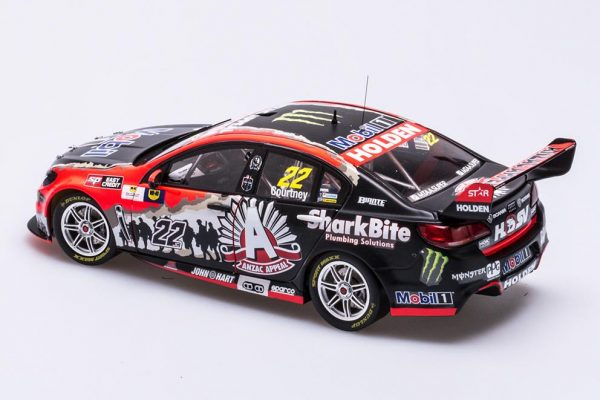 1:18 2016 Holden VF Commodore - HRT - Anzac Appeal Livery - Courtney