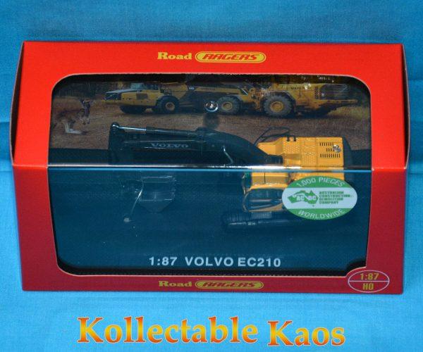 1:87 Road Ragers - Volvo EC210 - Hydraulic Excavator