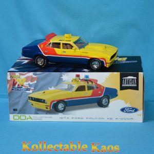 1:18 DDA - 1974 Ford XB Falcon - First of the V8 Interceptors - Police Car