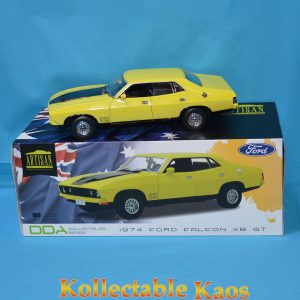 1:18 DDA - 1974 Ford Falcon XB GT - Yellow
