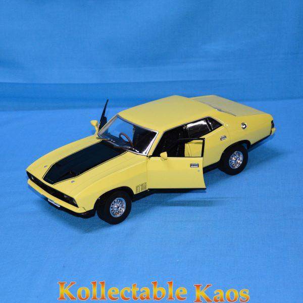 DDA013 1974 Ford Falcon XBGT Yellow 5 600x600 - 1:18 DDA - 1974 Ford Falcon XBGT - Yellow
