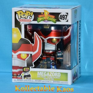 Power Rangers - Megazord 15cm Metallic Pop! Vinyl Figure (RS)