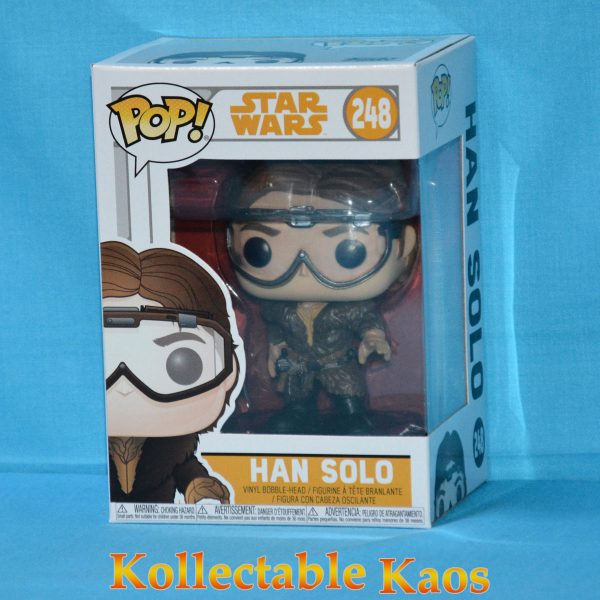 Star Wars: Solo - Han Solo with Goggles Pop! Vinyl Figure (RS) #248