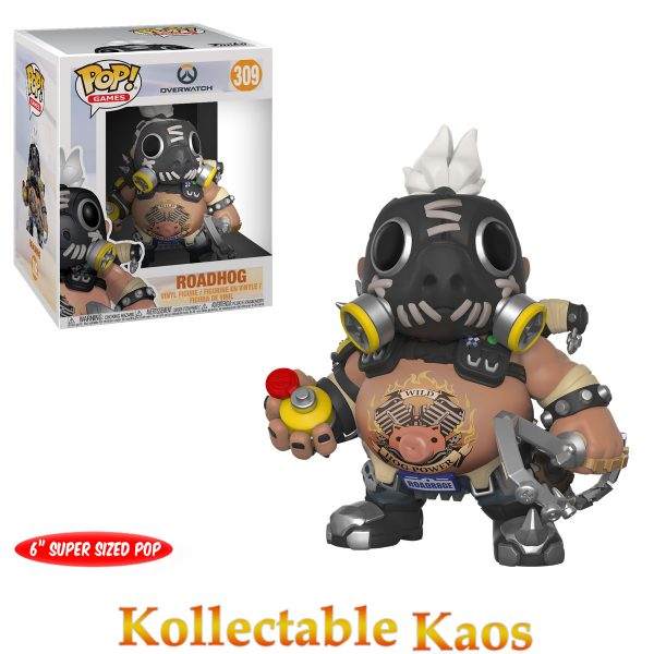 Overwatch - Roadhog 15cm Super Sized Pop! Vinyl Figure