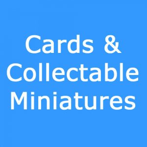 Cards-Collectable Miniatures