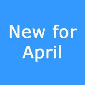 New for April