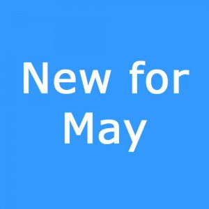 New for May