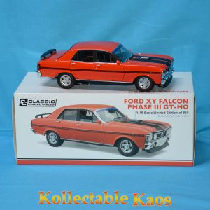 CC18676 Ford XY Falcon Red 1 300x300 - 1:18 Ford XY Falcon Phase III GT-HO - Vermillion Fire