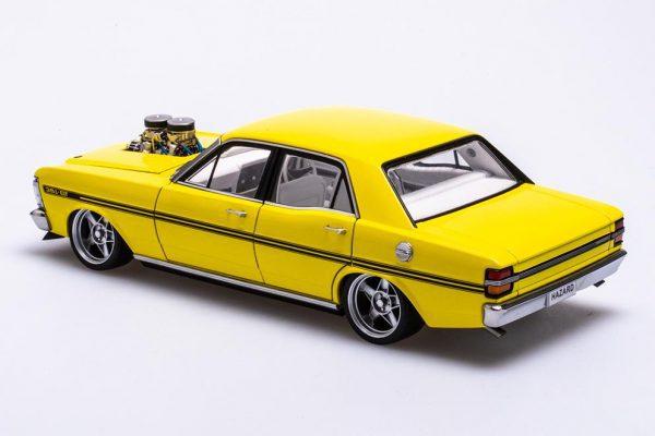 A72792 Ford XY 3 600x400 - 1:18 Ford XY Falcon Street Machine - Hazard Neon Yellow(Pre order)