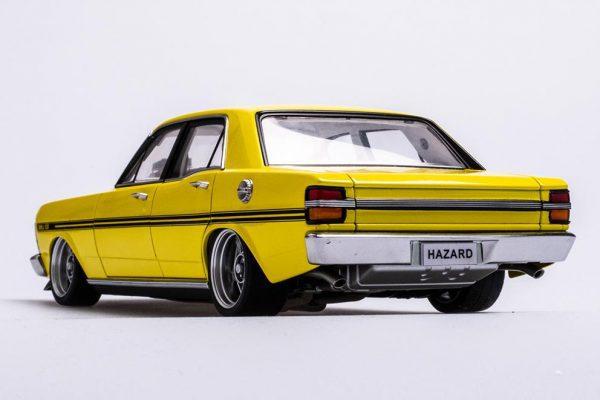 A72792 Ford XY 6 600x400 - 1:18 Ford XY Falcon Street Machine - Hazard Neon Yellow(Pre order)