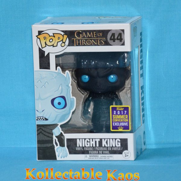 FUN22621 GOT NightKing Pop 1 600x600 - SDCC 2017 - Game of Thrones - Night King Translucent Eyes Pop! Vinyl Figure (RS) #44 + Protector