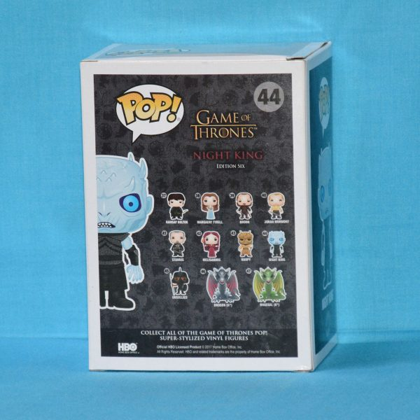 FUN22621 GOT NightKing Pop 2 600x600 - SDCC 2017 - Game of Thrones - Night King Translucent Eyes Pop! Vinyl Figure (RS) #44 + Protector