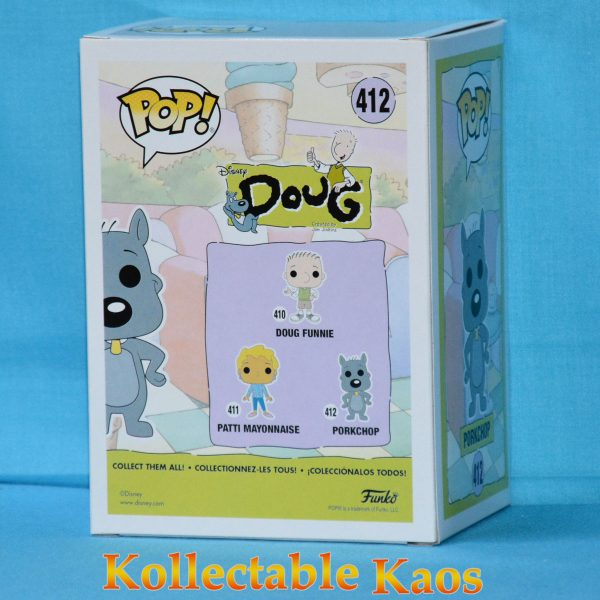 FUN25703 Doug Porkchop Pop 2 600x600 - Doug - Porkchop Pop! Vinyl Figure #412