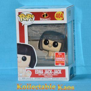 FUN29954 Incredibles 2 Jack Jack Edna Mode Pop 1 300x300 - SDCC 2018 - Incredibles 2 - Edna Jack-Jack Pop! Vinyl Figure (RS) #404