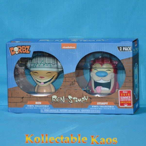 FUN30658 Happy Happy Joy Joy Dorbz 2pk 1 600x600 - SDCC 2018 - Ren & Stimpy - Happy Happy Joy Joy Dorbz 2-Pack (RS)