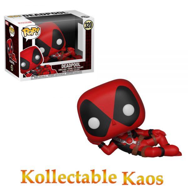 FUN30850 Deadpool Reclining Pop 600x600 - Deadpool - Deadpool Reclining Pop! Vinyl Figure #320