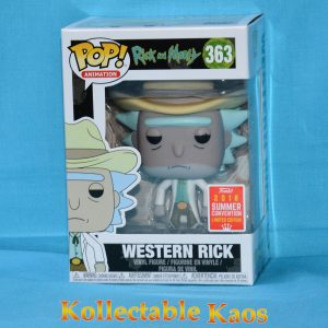 FUN30966 R M Western Rick 1 300x300 - SDCC 2018 - Rick and Morty - Western Rick Pop! Vinyl Figure (RS) #363