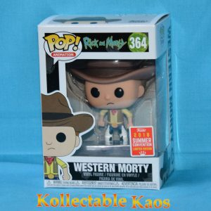 FUN30971 R M Western Morty 1 300x300 - SDCC 2018 - Rick and Morty - Western Morty Pop! Vinyl Figure (RS) #364