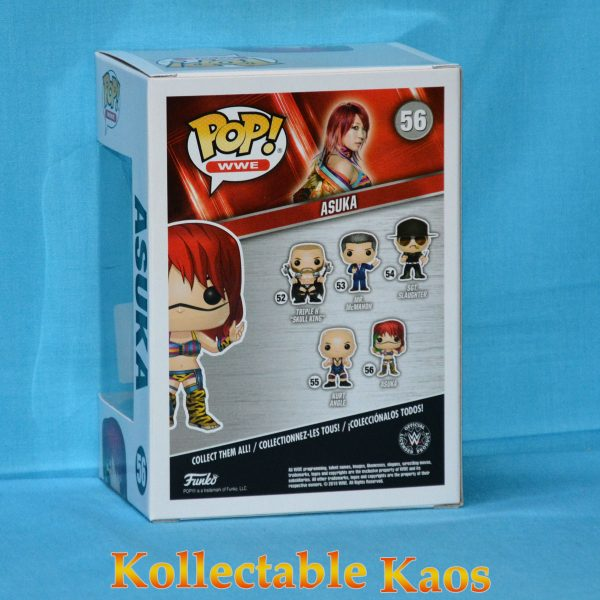 FUN30989 WWE Asuka Pop 2 600x600 - WWE - Asuka Pop! Vinyl (RS) #56 + Protector