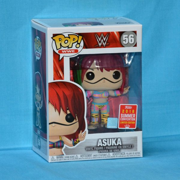 FUN30989 WWE Asuka Pop 600x600 - WWE - Asuka Pop! Vinyl (RS) #56 + Protector