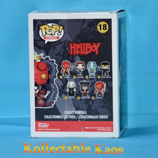 FUN31174 Hellboy 2 600x600 - SDCC 2018 - Hellboy - Hellboy in Suit Pop! Vinyl Figure (RS) #18