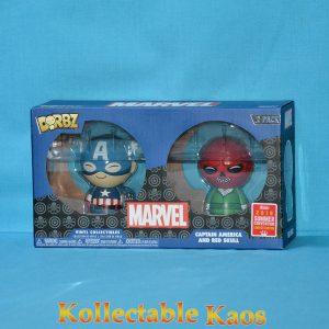 FUN31352 Marvel Cap Skull Dorbz 2pk 1 300x300 - Captain America - Captain America & Red Skull Dorbz 2-Pack (RS)