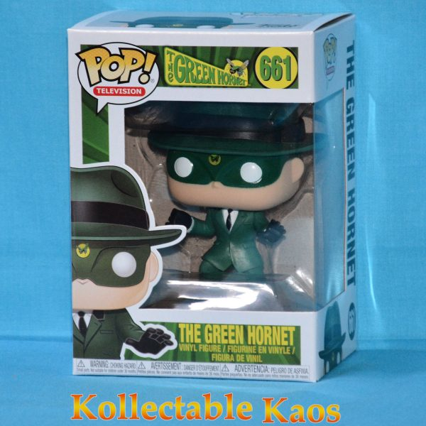FUN31485 Green Hornet 1960 Pop 1 600x600 - The Green Hornet (1966) - Green Hornet Pop! Vinyl Figure #661