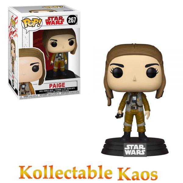 FUN31789 Star Wars Paige Pop 600x600 - Star Wars Episode VIII - Paige Pop! Vinyl Figure #267
