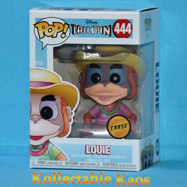 FUN32085 TaleSpin Louie Pop Chase 1 600x600 - TaleSpin - Louie Pop! Vinyl Figure #444 - Chase
