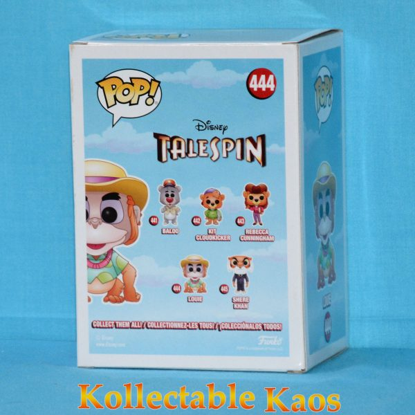 FUN32085 TaleSpin Louie Pop Chase 2 600x600 - TaleSpin - Louie Pop! Vinyl Figure #444 - Chase